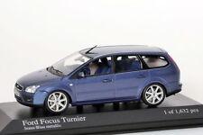 Ford Focus Turnier 2005 blau metallic Minichamps 1:43 NEU/OVP