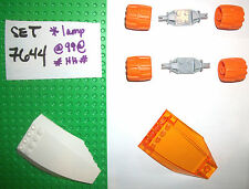 45705 6118 47720 LEGO Orange Wheels Mars 7644 7648 7647 7699 7645 7693 7692