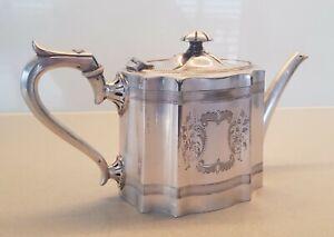 James Dixon & Sons Silver Plated Teapot - Sheffield, England - Circa 1927