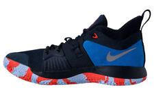 New Nike PG2 Paul George Dark Obsidian Blue Orange Shoes sz 9