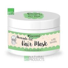 Nacomi Natural Avocado Oil Hair Mask with Keratin 200ml