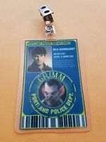 Grimm TV Series Id Badge - Nick Burkhardt Grimm Detective costume prop cosplay