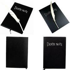 Death Note Cosplay Notizbuch mit Federstift Buch Anime Journ Theme Neu Writ J7B0