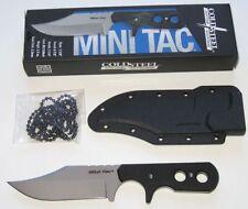COLD STEEL MINI TAC BOWIE MESSER DAS ANGESAGTE NECK KNIFE NEU/OVP