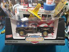 1:18 Ertl American Muscle 1978 Dodge Black Warlock Truck MIB 1994