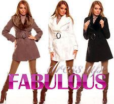 Women's Polyester Basic Coats