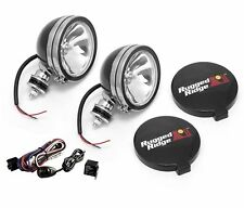 Fog Light Kit Pair 6-In Round Black 100W  Rugged Ridge  X 15207.51