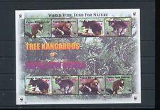 Papua New Guinea 2003 Tree Kangaroos WWF MNH Sheet (Pap 40)