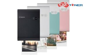 CANON SELPHY Square QX10 COMPACT WI-FI PHOTO Printer+AirPrint *BLACK* NEW
