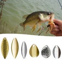 Metal Fishing Lure Spinnerbait Blade DIY Lure Kit Making Tool Tackle Accessories