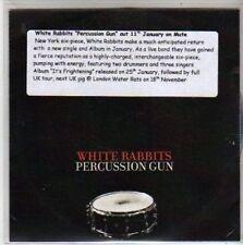 (BB257) White Rabbits, Percussion Gun - DJ CD