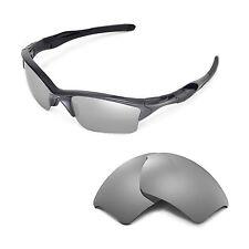 New Walleva Polarized Titanium Replacement Lenses For Oakley Half Jacket 2.0 XL
