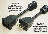 BAASP Hydrofarm Adapter Lamp plug Adapter