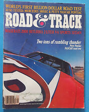 April 1982 Road  & Track (Two Tons Of Rolling Thunder)