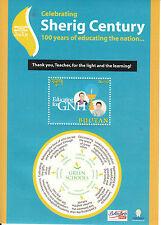 Bhutan 2012 MNH Celebrating Sherig Century 1v S/S GNH Educating Green Schools