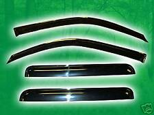Vent Window Shades Visors Rain Guards for Chevy Trailblazer 2002-2011
