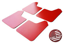 StreetRays Universal 4 Rock Mud Guard Flaps STARTER Set RED (NO HARDWARE)