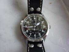 Laco / Lacher Automatik Armbanduhr Fliegeruhr mit Datumspunkt - ETA Automatik
