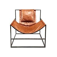 Armchair GINGERBREAD designer leather modern luxurious trendy unique handmade