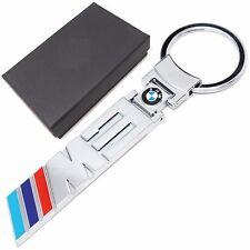 BMW M3 chrome metal key ring with gift box