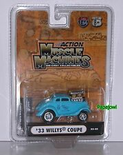 Stone Woods Cook Muscle Machines 1933 Willys 33 Coupe NHRA Drag Racing Hemi 1:64