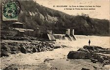CPA Bellegarde - the loss of the rhone to the melting of the snow (382400)