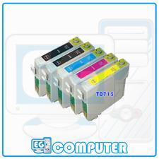 KIT 5 CARTUCCE EPSON S20 SX100 SX105 SX200 SX205 SX400 SX405 SX405WIFI SX600FW