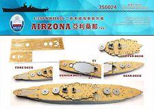 Shipyard 1/350 350024 Wood Deck USS Battleship Arizona for Hobbyboss