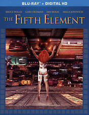 The Fifth Element (Blu-ray Disc,2015,Includes UltraViolet Digital Copy)Brand New