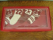 Pottery Barn Knit Stocking Advent Calendar Garland ~ NEW IN BOX
