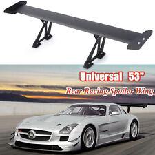 "53"" /135cm Universal Hatch Adjustable Aluminum GT Rear Trunk Wing Racing Spoiler"