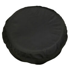 "18"" Spare Wheel Cover Tire Covers Canvas Black Fit For RV Truck SUV Camper"