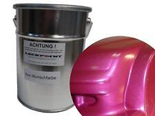 1 Litro 2k Pintura Rosa Claro metálico sin Endurecedor & DILUYENTE lackpoint