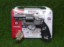 Crosman CO2 Dual Ammo Full Metal Revolver Air Gun Pistol - BB & Pellet - SNR357