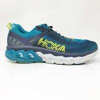 Hoka One One Mens Arahi 2 1019275 CSDB Blue Running Shoes Lace Up Size 10.5