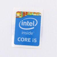 20x  Laptop PC Sticker Badge Label Core i5 Inside 4/5 Gen Blue ST026 15.5 x 21mm