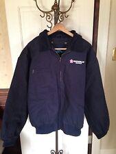 Men's Tri-Mountain Sequoia Canvas Jacket, Removable Liner, XXL, Navy Blue, NWT