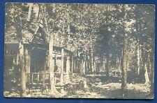 Camp Moosehorus Schoodie Dpo Maine me real photo postcard Rppc