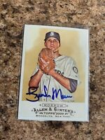 Brandon Morrow Signed 2009 Topps Allen & Ginter Auto Seattle Mariners Cubs