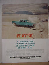 1964 Chevrolet Impala in Southwest Desert Testing Area Vintage Print Ad 10381