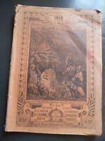 Almanach Del Pellegrino 1915 Parigi Illustre Alle Uffici Casa Della Buona Stampa