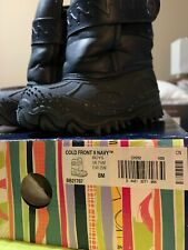Toddler Boy's Stride Rite Dark Blue Insulated Snow Winter Boots Size 8 M