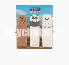 We Bare Bears Sticky Bookmark Page Marker School Office Page Index Tab
