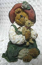 Boyds Bears & Friends, Bearstone Collection, Patricia with Buddy (#228417), 2003