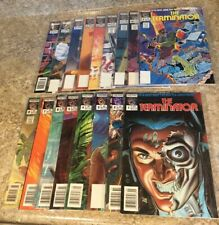 THE TERMINATOR #1-17 Full Run PLUS 3 DOUBLES Great Condition Now Comics 1988