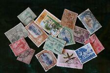 14 Trinidad  postage stamps postal philately philatelic kiloware mail