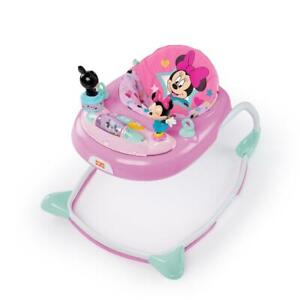 Disney Baby Walker For Girls Walking Assistant Activity Center Minnie Mouse New