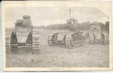 CP Militaria - Chars Renault - Guerre 14-18