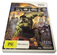 The Incredible Hulk Nintendo Wii PAL *Complete* Wii U Compatible