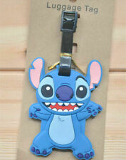 disney stitch standing anime luggage tag claim tag for Travel new